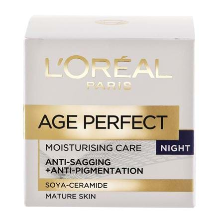 Nattkräm L'Oréal Age Perfect