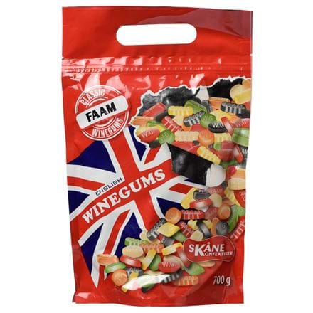 Makeiset Faam English winegums